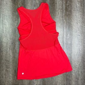 lululemon Red Luxtreme Fast As Light Tank Top 6